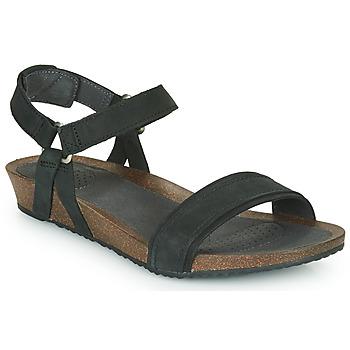 Cipők Női Szandálok / Saruk Teva MAHONIA STITCH Fekete