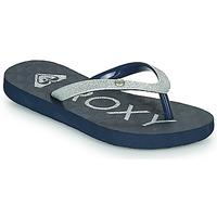 Cipők Lány Lábujjközös papucsok Roxy VIVA GLTR III Tengerész