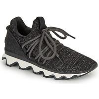 Cipők Női Rövid szárú edzőcipők Sorel KINETIC LACE Fekete