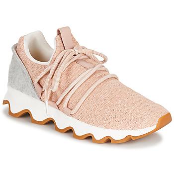 Cipők Női Rövid szárú edzőcipők Sorel KINETIC LACE Rózsaszín
