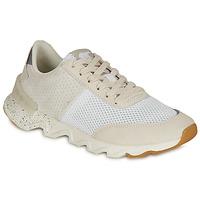 Cipők Női Rövid szárú edzőcipők Sorel KINETIC LITE LACE Fehér