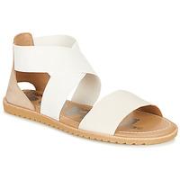 Cipők Női Szandálok / Saruk Sorel ELLA SANDAL Fehér / Bézs