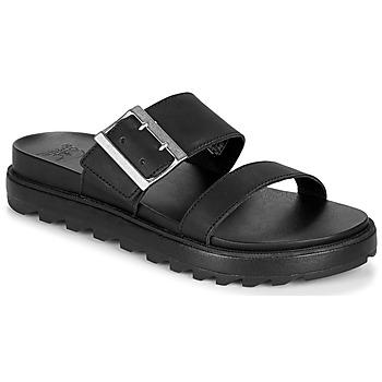 Cipők Női Szandálok / Saruk Sorel ROAMING BUCKLE SLIDE Fekete