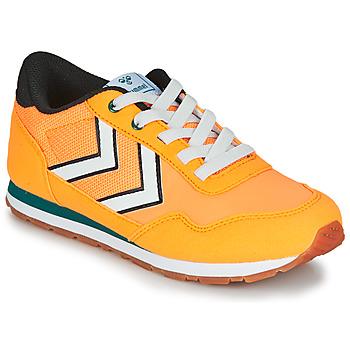 Cipők Gyerek Rövid szárú edzőcipők Hummel REFLEX JR Citromsárga
