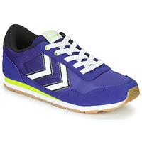 Cipők Gyerek Rövid szárú edzőcipők Hummel REFLEX JR Kék