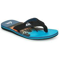 Cipők Gyerek Lábujjközös papucsok Quiksilver MOLOKAI LAYBACK Kék