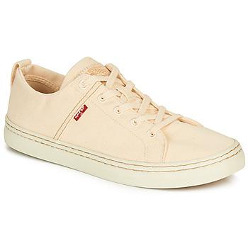 Cipők Férfi Rövid szárú edzőcipők Levi's SHERWOOD LOW Bézs