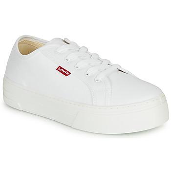 Cipők Női Rövid szárú edzőcipők Levi's TIJUANA Fehér