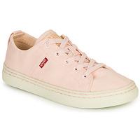 Cipők Női Rövid szárú edzőcipők Levi's SHERWOOD S LOW Rózsaszín