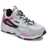 Cipők Női Rövid szárú edzőcipők Fila Ray Tracer CB wmn Fehér / Rózsaszín