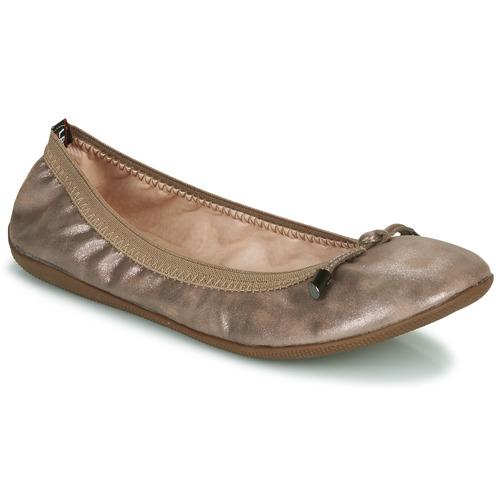 Cipők Női Balerina cipők  Les Petites Bombes AVA Bronz