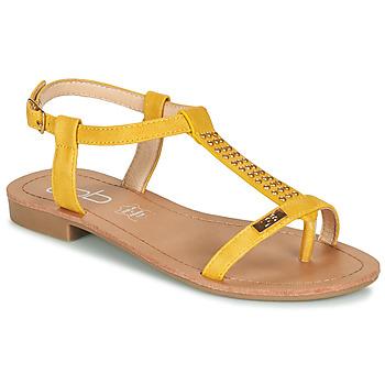 Cipők Női Szandálok / Saruk Les Petites Bombes EMILIE Mustár sárga
