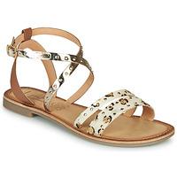 Cipők Női Szandálok / Saruk Les Petites Bombes AGATHE Arany