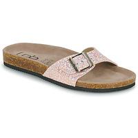 Cipők Női Papucsok Les Petites Bombes ROSA Rózsaszín