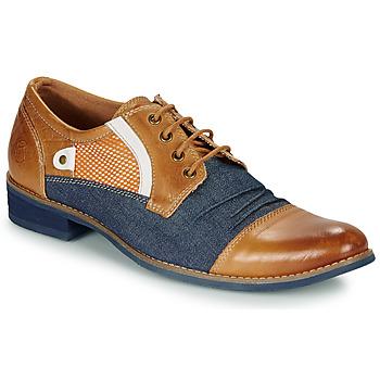 Cipők Férfi Oxford cipők Kdopa JONES Teve / Kék