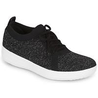 Cipők Női Rövid szárú edzőcipők FitFlop F-SPORTY UBERKNIT SNEAKERS Fekete
