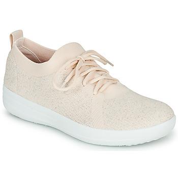 Cipők Női Rövid szárú edzőcipők FitFlop F-SPORTY UBERKNIT SNEAKERS Rózsaszín