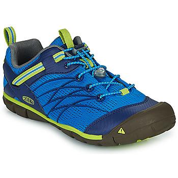 Cipők Fiú Sportszandálok Keen CHANDLER CNX Kék / Zöld