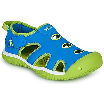 Cipők Gyerek Sportszandálok Keen STINGRAY Kék / Zöld