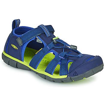 Cipők Gyerek Sportszandálok Keen SEACAMP II CNX Kék / Zöld
