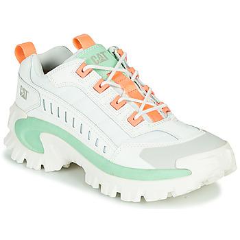 Cipők Férfi Rövid szárú edzőcipők Caterpillar INTRUDER Fehér / Zöld