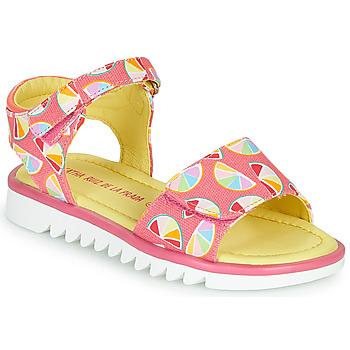 Cipők Lány Szandálok / Saruk Agatha Ruiz de la Prada SMILES Rózsaszín / Sokszínű