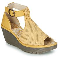 Cipők Női Szandálok / Saruk Fly London YALLS Citromsárga