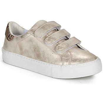Cipők Női Rövid szárú edzőcipők No Name ARCADE STRAPS Bézs