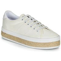 Cipők Női Rövid szárú edzőcipők No Name MALIBU SNEAKER Fehér