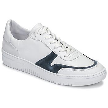 Cipők Férfi Rövid szárú edzőcipők Schmoove EVOC-SNEAKER Fehér / Kék