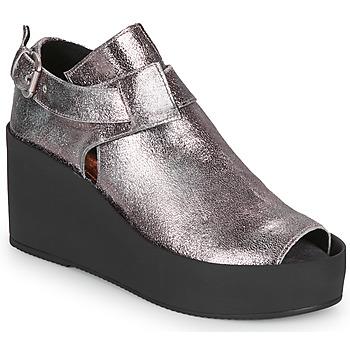 Cipők Női Szandálok / Saruk Papucei ANTONINA Ezüst