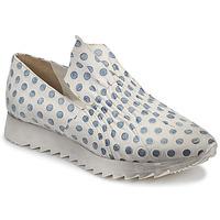 Cipők Női Rövid szárú edzőcipők Papucei ZENIT Fehér / Szürke