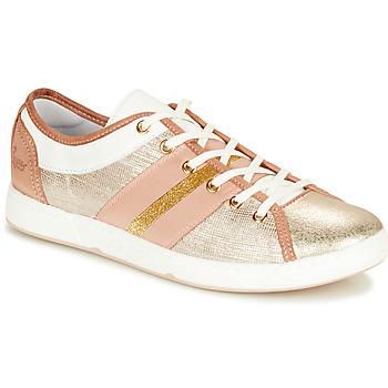 Cipők Női Rövid szárú edzőcipők Pataugas JUMEL/M Bőrszínű / Arany
