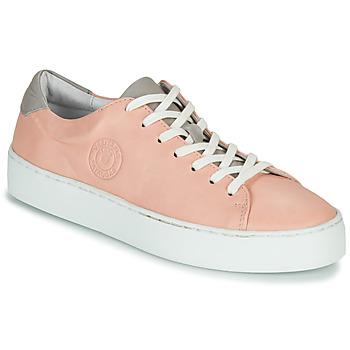 Cipők Női Rövid szárú edzőcipők Pataugas KELLA Rózsaszín