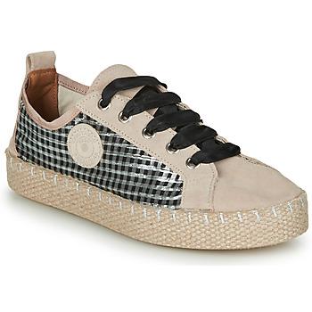 Cipők Női Gyékény talpú cipők Pataugas PANKE Homokszín