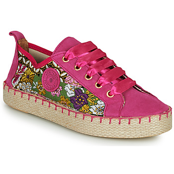 Cipők Női Gyékény talpú cipők Pataugas PANKE Rózsaszín