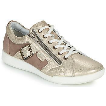 Cipők Női Rövid szárú edzőcipők Pataugas PAULINE/M Arany