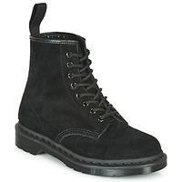 Cipők Csizmák Dr Martens 1460 MONO SOFT BUCK Fekete