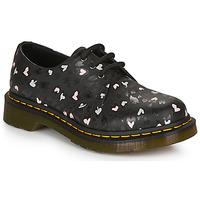 Cipők Női Oxford cipők Dr Martens 1461 HEARTS Fekete