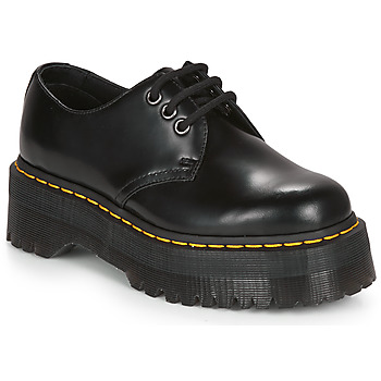 Cipők Női Csizmák Dr Martens 1461 QUAD Fekete