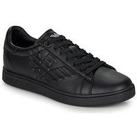 Cipők Rövid szárú edzőcipők Emporio Armani EA7 CLASSIC NEW CC Fekete