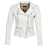Ruhák Női Bőrkabátok / műbőr kabátok Oakwood CAMERA Fehér