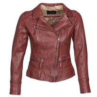 Ruhák Női Bőrkabátok / műbőr kabátok Oakwood CAMERA Piros