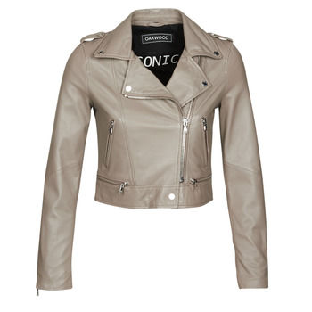 Ruhák Női Bőrkabátok / műbőr kabátok Oakwood YOKO Gitt / Tópszínű