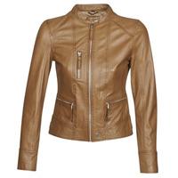 Ruhák Női Bőrkabátok / műbőr kabátok Oakwood EACH Konyak
