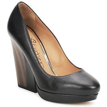 Cipők Női Félcipők Eva Turner CANIO Fekete