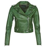 Ruhák Női Bőrkabátok / műbőr kabátok Oakwood KYOTO Zöld
