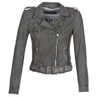 Ruhák Női Bőrkabátok / műbőr kabátok Oakwood PLEASE Szürke