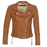 Ruhák Női Bőrkabátok / műbőr kabátok Oakwood ANGIE Barna