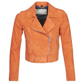 Ruhák Női Bőrkabátok / műbőr kabátok Oakwood KEREN Rozsda